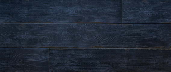 fashion, interior, dark painted and stripped wood coverings