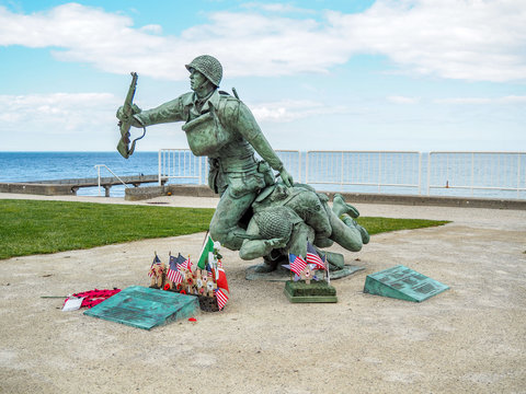 Honoring the brave soldiers of the 75th Anniversary of the Allied Invasion at the beaches of Normandy.