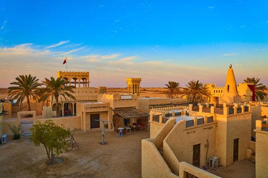 Film city traditional arabic village Ras Brouq resreve Zekreet Qatar