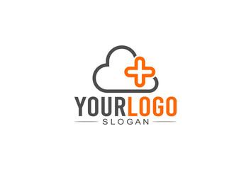 Cloud Plus Logo Concept