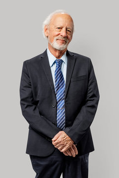 Professional businessman portrait in a studio