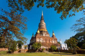 wat phra si sanphet in ayutthaya Thailand