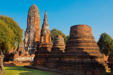 Thailand ruins old cities temples