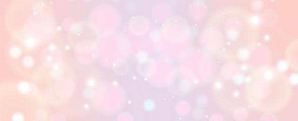 shiny pink bokeh light copy space background Fotobehang