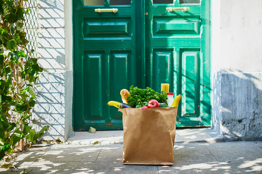 Food delivery during coronavirus outbreak