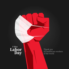 1 st. May Labor day message.