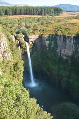 Fototapeta Wodospad Macmac rzeki Blyde w południowej Afryce RPA obraz