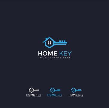 Home Key Logo Template
