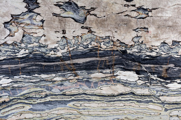 Extravagant quartzite background for your unusual new interior.