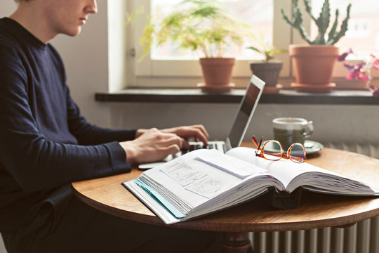 Working from home with bookkeeping