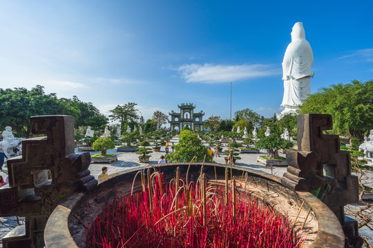 View of Chinese temple on Phu Quoc island ,Vietnam