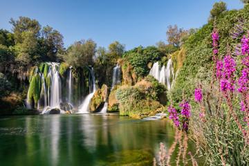 Papiers peints Cascades Kravica waterfall on Trebizat river, Bosnia and Herzegovina