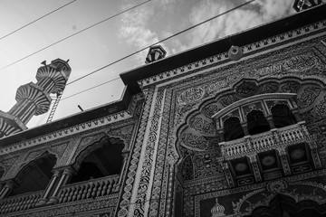 Very old and very famous mosque in Karachi Fototapete