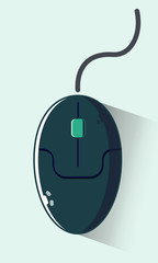 Wall Mural - computer mouse icon