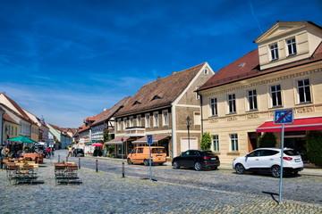 Fotomurales - lübbenau, deutschland - marktplatz in der altstadt