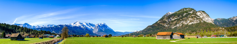 Wall Mural - mountains in garmisch-partenkirchen