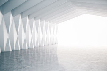Gallery hall interior
