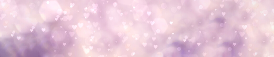 Fototapete - Abstract pastel background with hearts - concept Mother's Day, Valentine's Day, Birthday , Christmas - spring colors