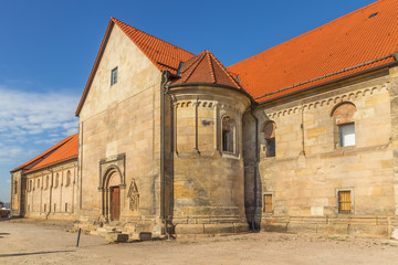 Fototapete - St Peter's Church, Erfurt, Germany