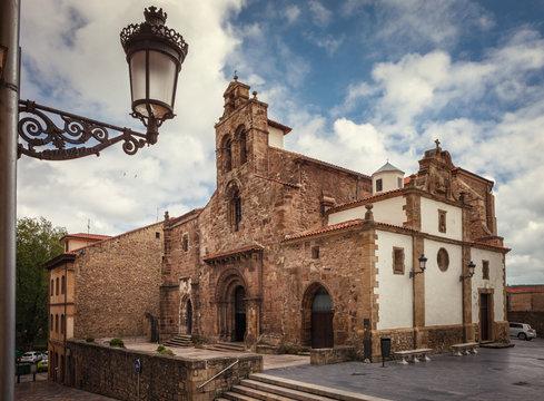 Franciscan church, Romanesque style, 12th century, Aviles, Spain