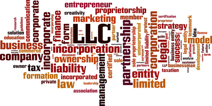 LLC word cloud