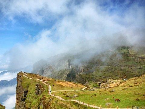 Landscape At Cliffs Of Moher