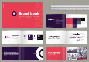 Brand Guide Book Layout