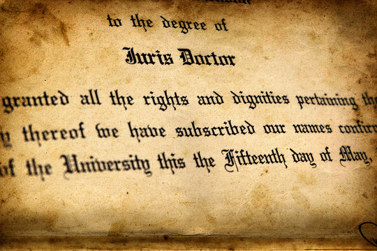 Juris Doctor Degree Law School Higher Education Lawyer