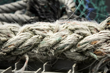Boat braided rope