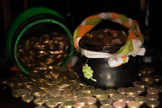 leprechaun gold for St. Patrick's day