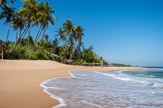 Sri Lanka, Southern Province, Tangalle, Tropical beach