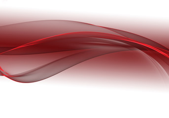 Abstract background waves. White and maroon abstract background for wallpaper or business card