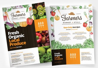 Farmers Market Flyer Layout