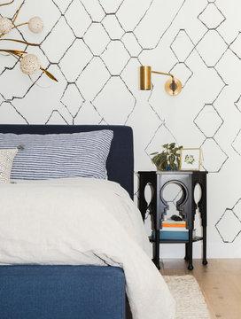 Clean home bedroom