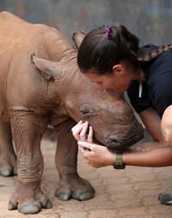 Zanrie Van Jaarsveld kisses Mapimpi in Mookgopong