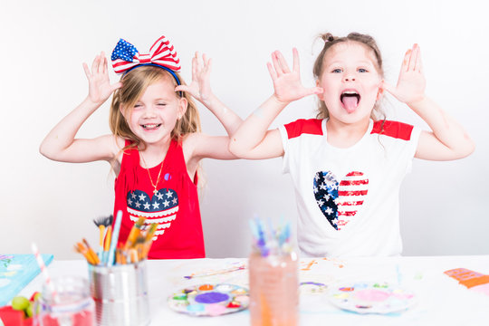 July 4th kids art