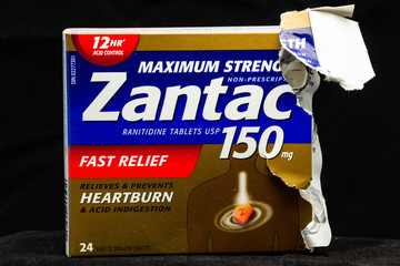 Ranitidine, known more commonly by it's brand name Zantac, a recalled over-the-counter heartburn relief medication that is suspected by the FDA to contain contaminates that may cause health problems.