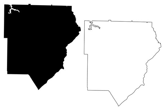 Cobb County, Georgia (U.S. county, United States of America,USA, U.S., US) map vector illustration, scribble sketch Cobb map