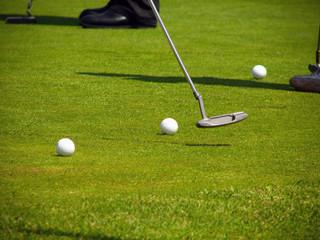 Fototapeta gra w golfa obraz