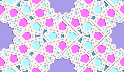 Festive colorful background Festive colorful background. Ramadan Kareem. Islamic art.
