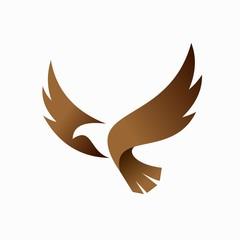 condor vector logo, bird logo design