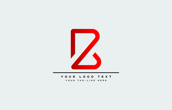 Initial based clean and minimal letter. BZ ZB B Z logo creative fonts monogram icon symbol. Universal elegant luxury alphabet vector design