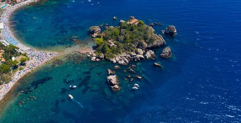 Iso Bella- Taormina in Sicily Fototapete
