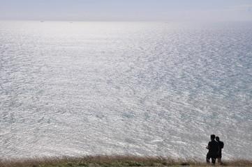 widok na morze ... Beach Head.