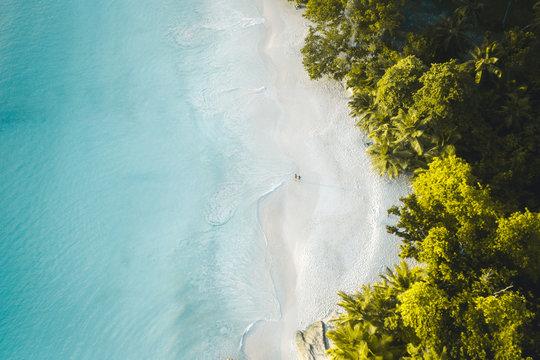 Walking on Paradise Beach