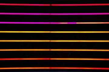 Full Frame Shot Of Multi Colored Neon Lights Fotobehang