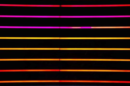 Full Frame Shot Of Multi Colored Neon Lights
