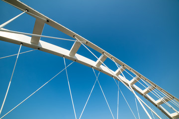 Paintings on glass Bridges Abstract architecture detail of bridge arches and bows