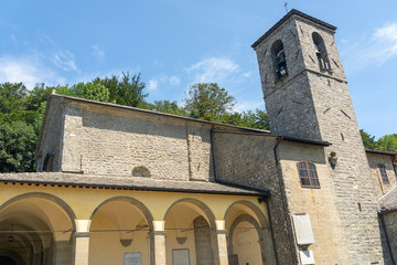 Wall Mural - La Verna, medieval monastery in the Arezzo province