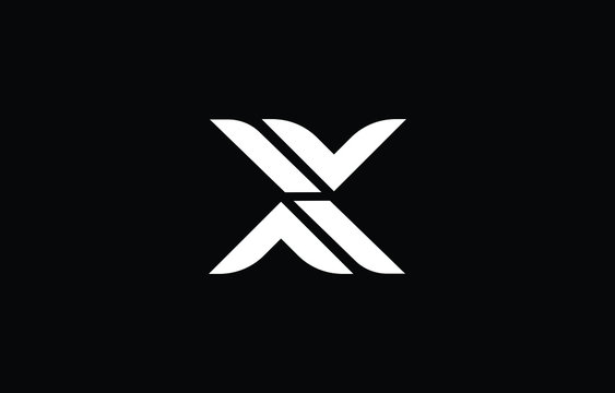 Initial based clean and minimal letter. X logo creative fonts monogram icon symbol. Universal elegant luxury alphabet vector design